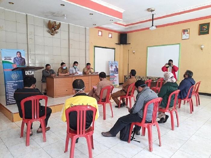 Pelaksanaan Monitoring dan evaluasi dari Kecamatan Rancabali
